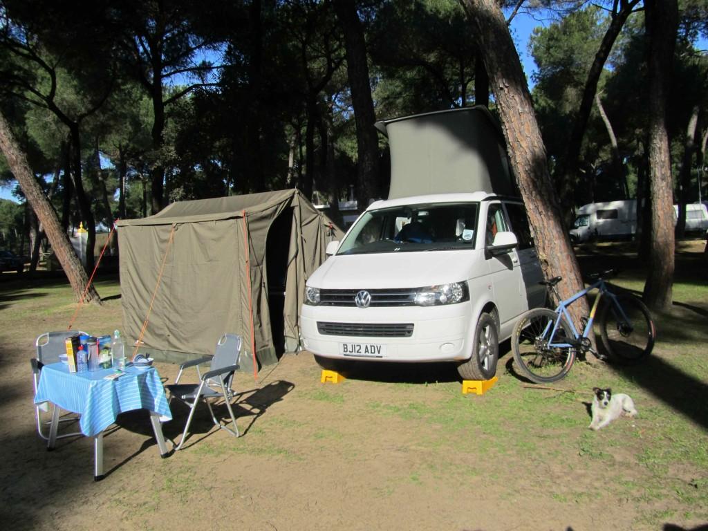Camping Dehesa Neuva, outside Aznalcazar