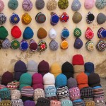 Hats in the souk, Essaouira medina