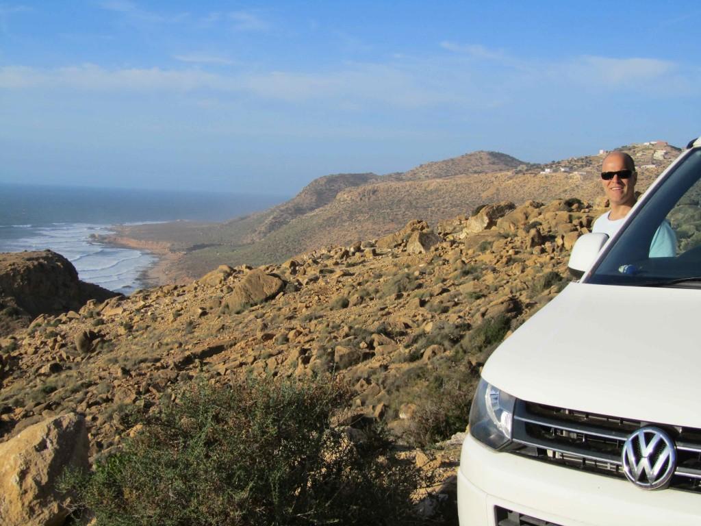 Atlantic vistas on the road to Imsouane