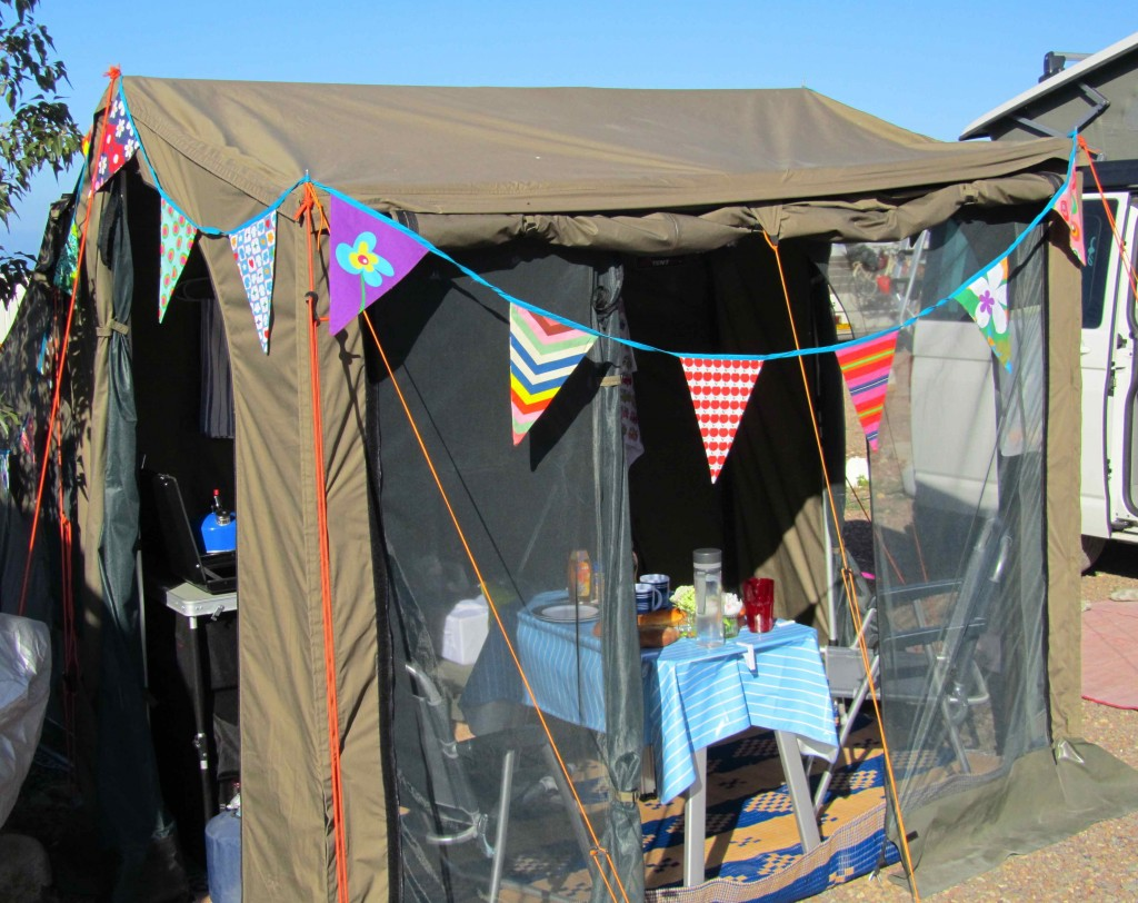 The bunting has made an appearance; Morocco is shocked by the glamping culture!