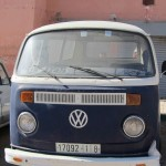 Local combi van, Taghazout