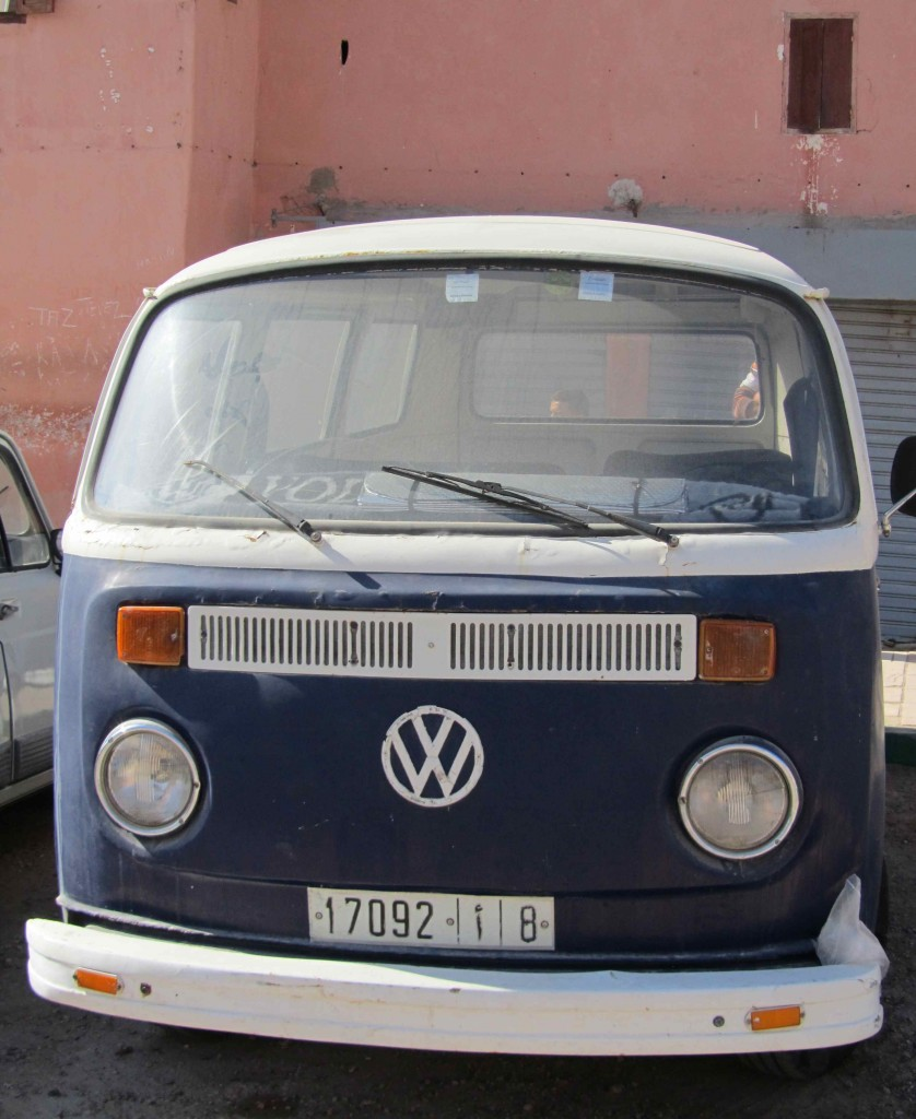 Local combi van, Taghazout