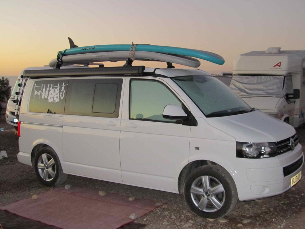 Cali the surfer van