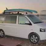 Cali the surfer van