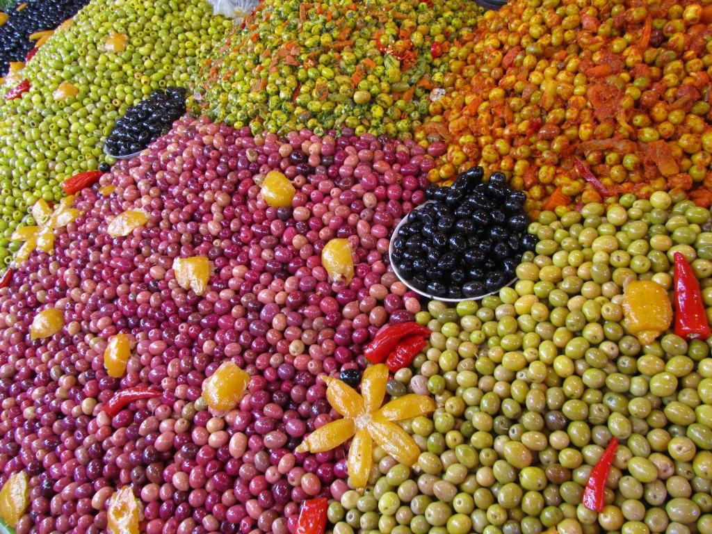 Olives at Souk el Had, Agadir
