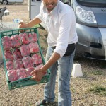 Bargaining for strawberries with M'hammed