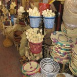 Household wares at the Souk Arab, Taroudant