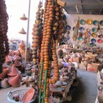 Jewellery and pottery in the Souk Arab