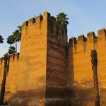 The magnificent town walls of Taroudant, 5kms in total