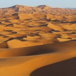 The Erg Chebbi dunes