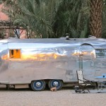 Airstream caravan, Todra Gorge