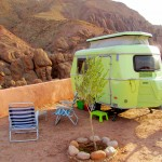 Dutch Eriba caravan, Dades Gorge