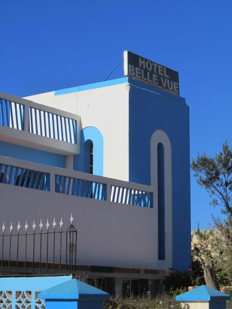 The art deco splendour of the BelleVue hotel
