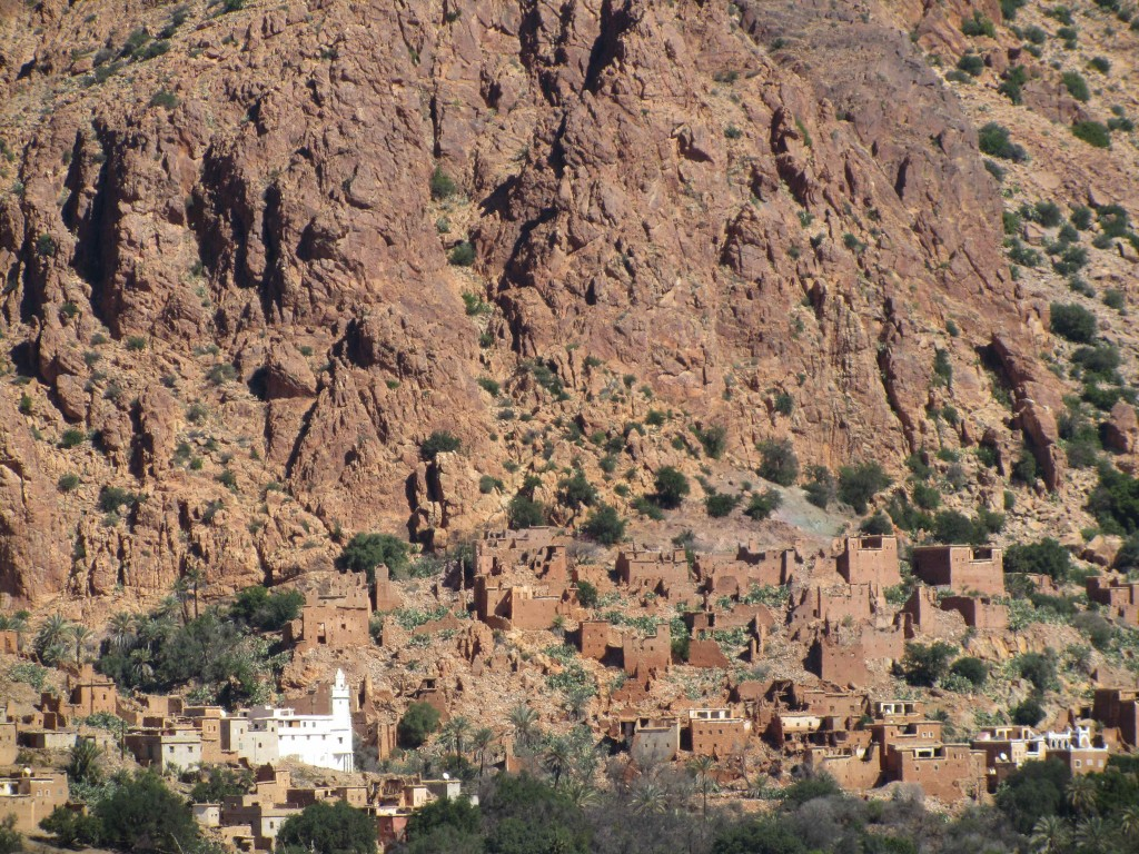 One of the Berber villages in the Ameln Valley