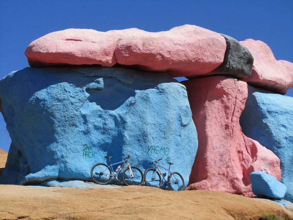 Jean Verame's painted rocks