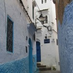 The medina streets, Chefchaouen