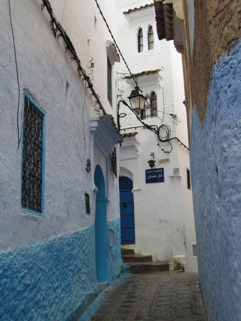 The medina streets, Chefchaouen