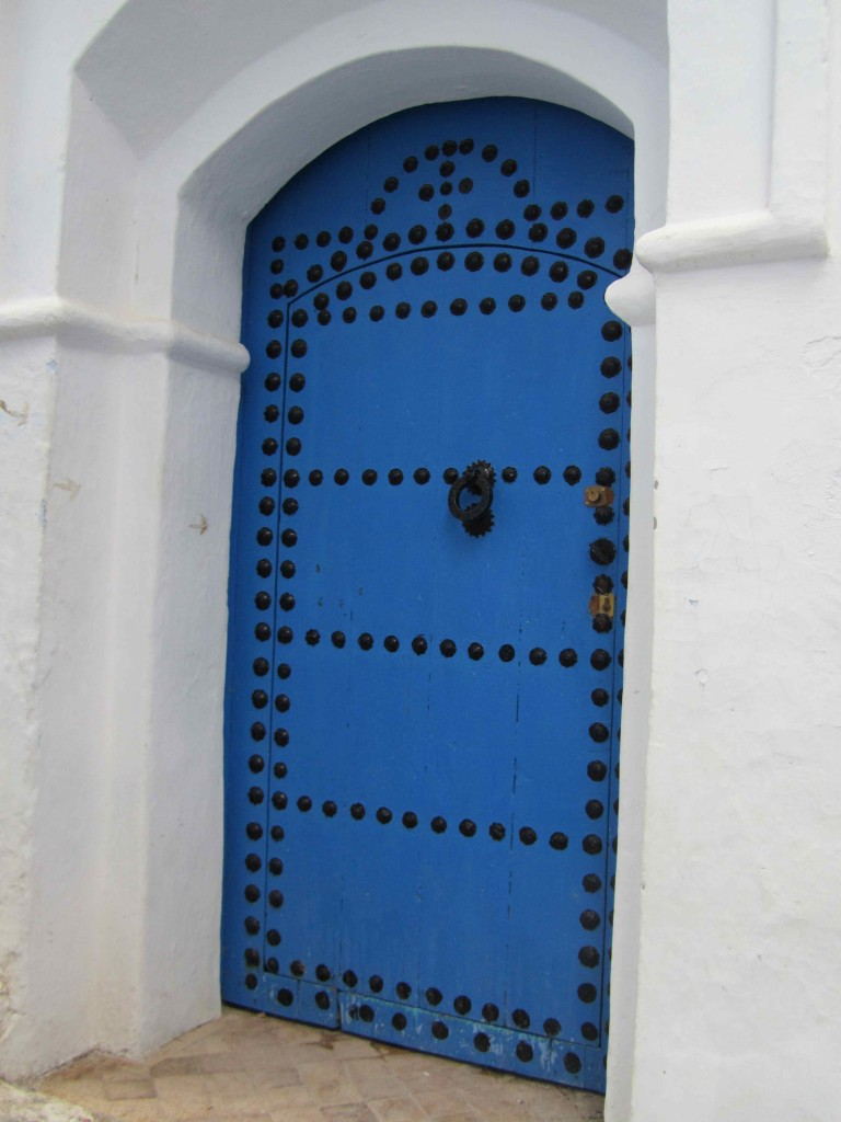 We fell in love with the many blue doors of Chefchaouen