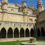 The cloisters of the cathedral in Tortosa