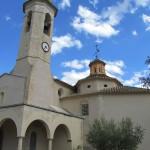 The church at La Riera de Gaia