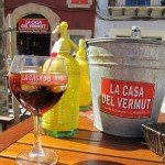 Discovered a local delicacy, a take on vermouth, which of course we had to try!