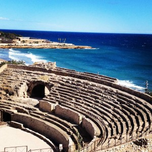 The Roman amphitheatre at Tarragona