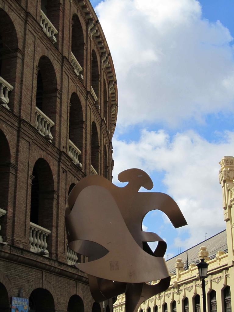 The bull ring, Valencia