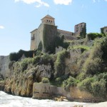 "Our ""local"" castle, at Tamarit the next cove along"