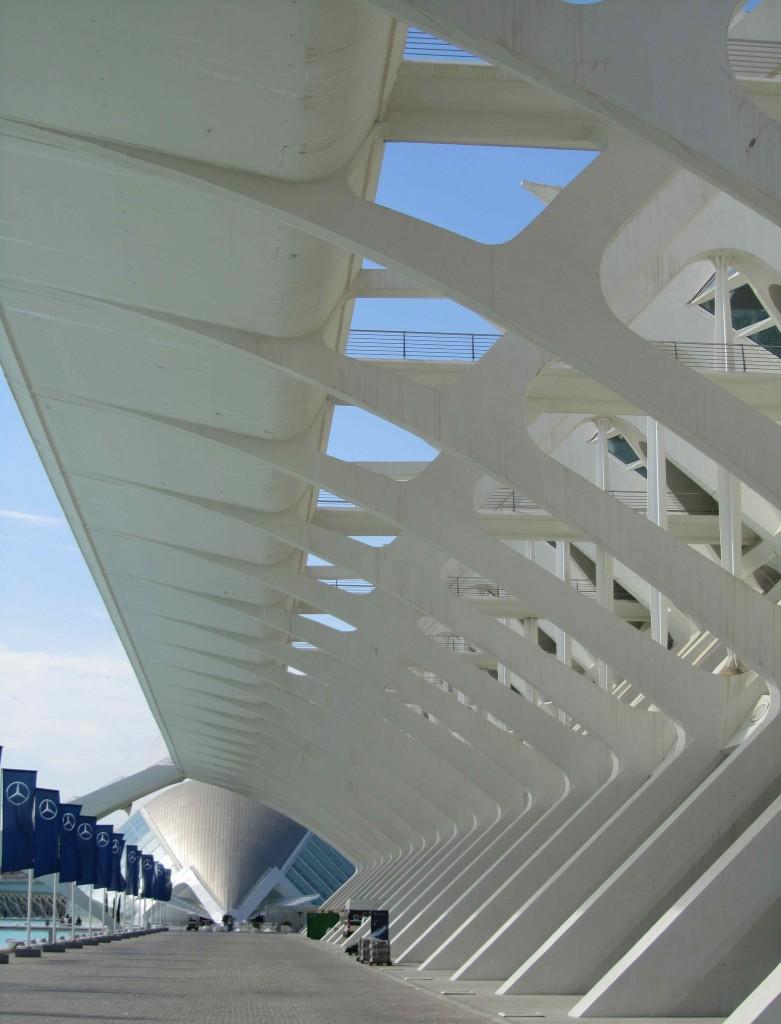 Valencia's Museo de las Ciencias, part of the City of Arts & Sciences