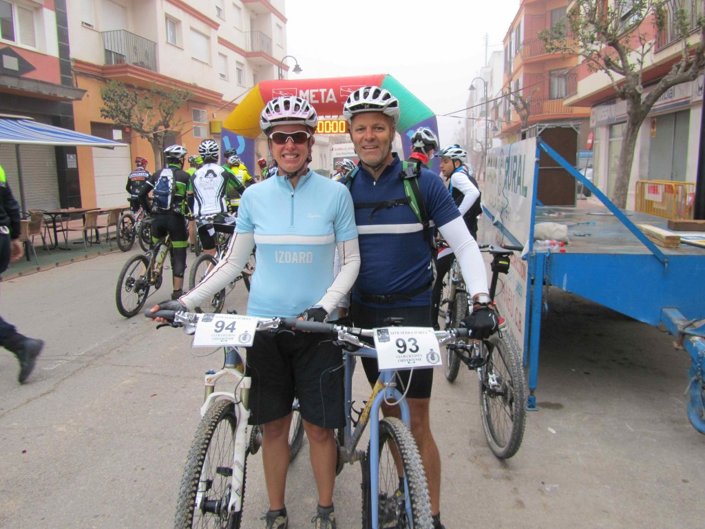 Waiting for the start, Alcala de Xivert club MTB race
