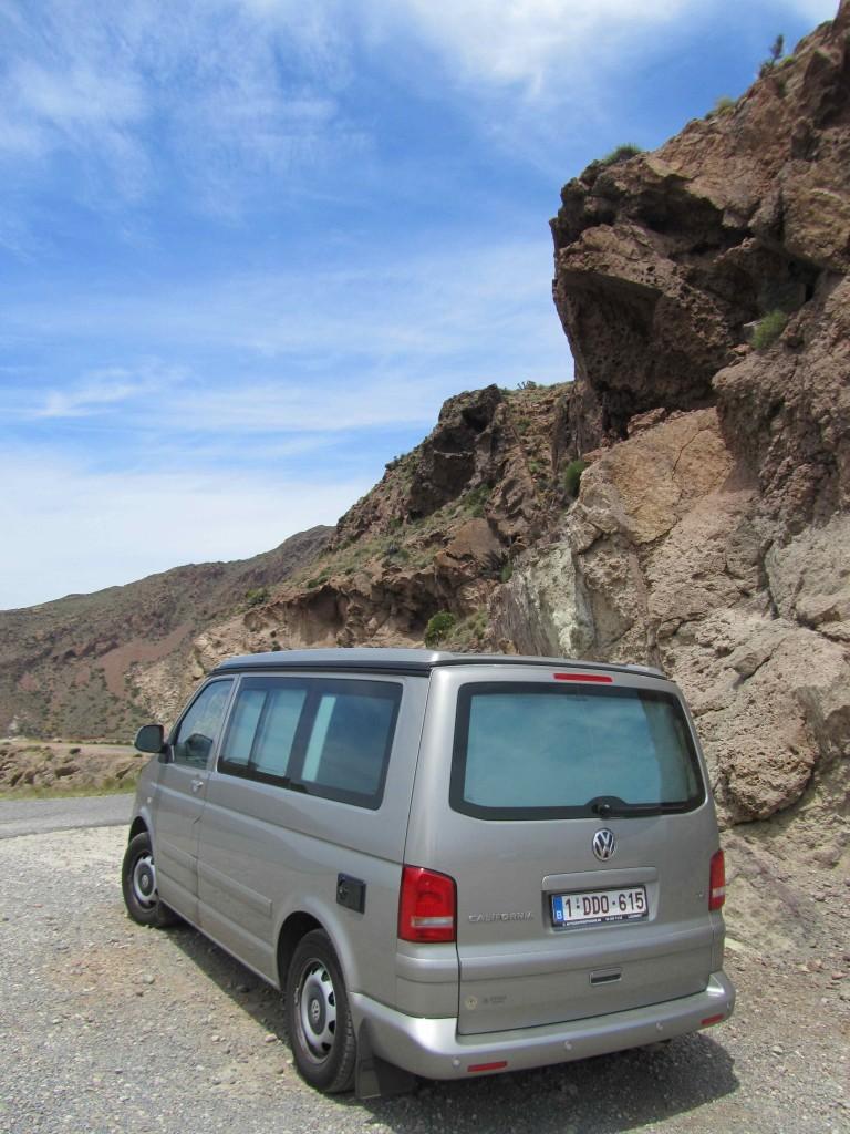 A Cali on the Cabo de Gata coastal road