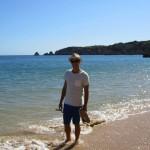 Tres Castelos Beach, near Alvor