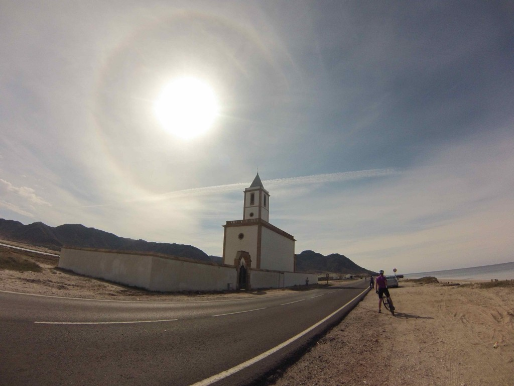 Church on the Cabo de Gata coastal road