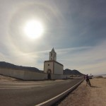 Church on the Cabo de Gata coastal road