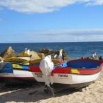 Fishing boats, Carvoeiro beach