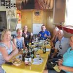 Lunch at Christophe's restaurant, El Sitio in Alhama de Murcia