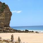 Our favourite deserted beach, Boca da Rio