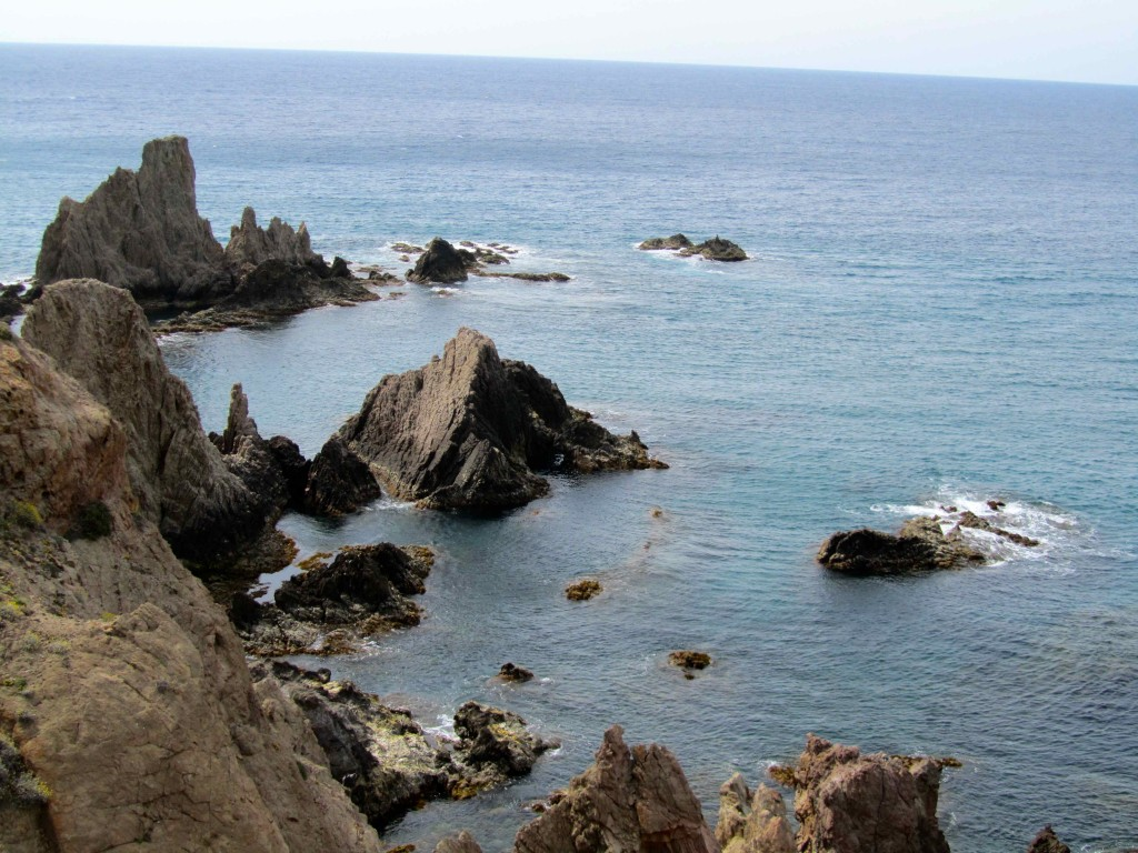 Reef of the Sirens on the Cabo de Gata coast