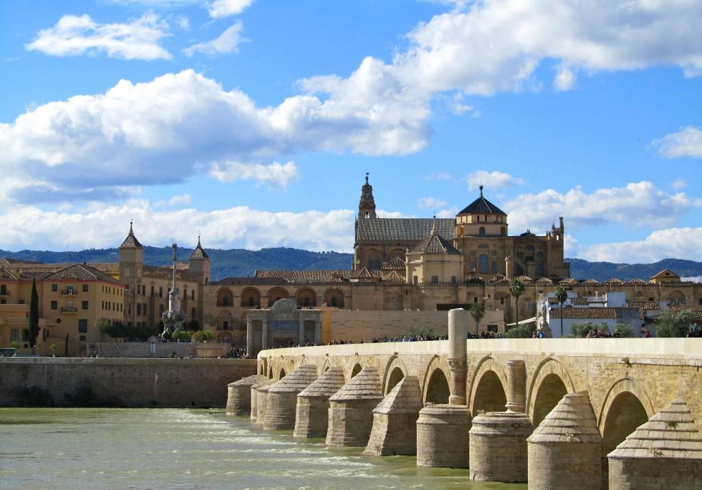 The Cordoba Mezquita and Roman bridge