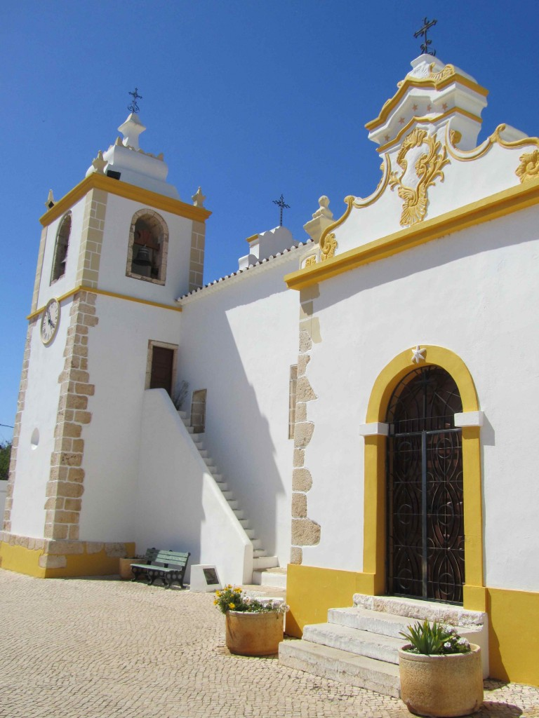 The church in Alvor