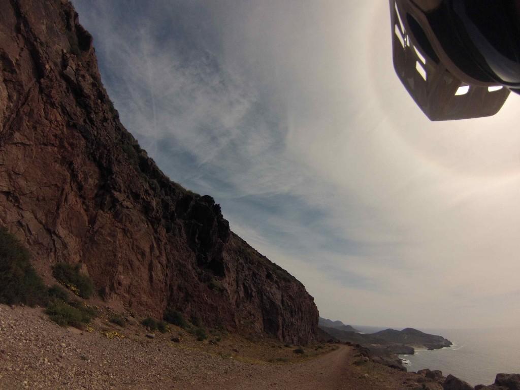 Cycling the coastal road, Cabo de Gata