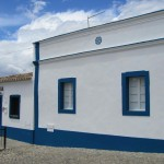 Typical flat roofed Algarve cottages