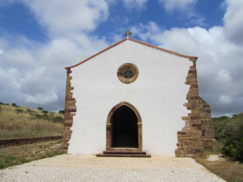 The hermitage of Our Lady of Gaudalupe near Raposeira, one of the few Medieval buildings in the Algarve to have survived the 1755 earthquake intact