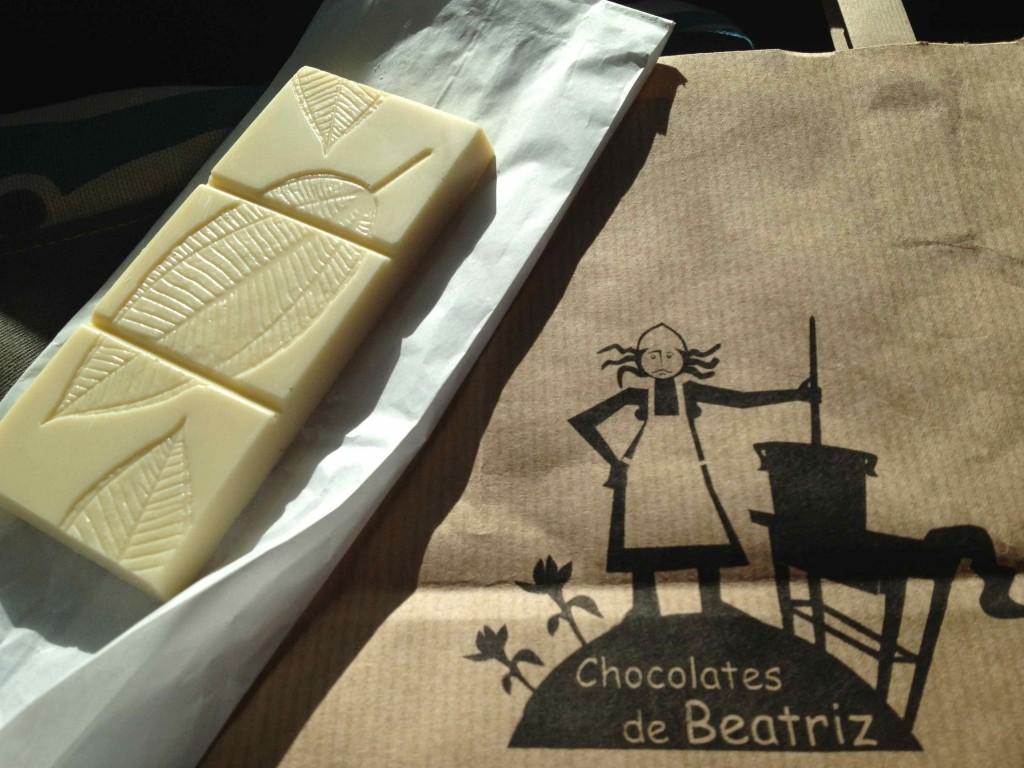 Beautiful handmade chocolates from Beatriz in Odemira
