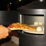 Hurrah - homemade pizza and dough balls in the Aquaforno!
