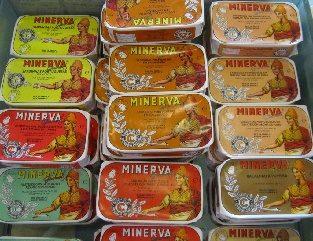 Sardines - one of the Portuguese staples
