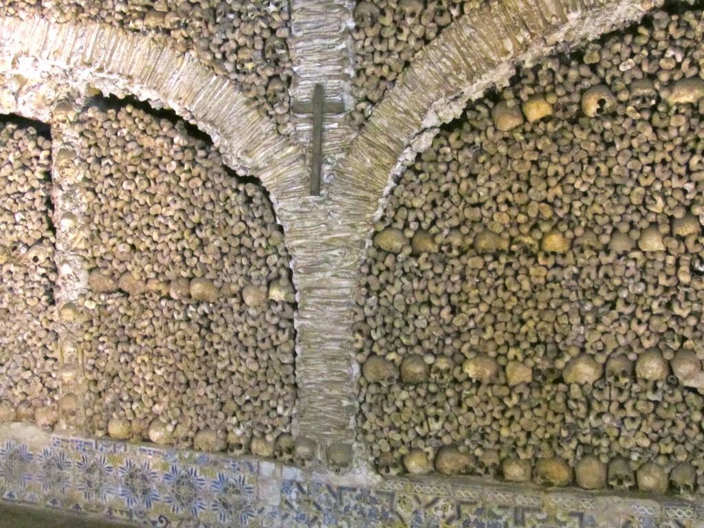 The Capela dos Ossos, Evora