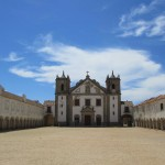 The church and pilgrims' lodges at Cabo Espichel