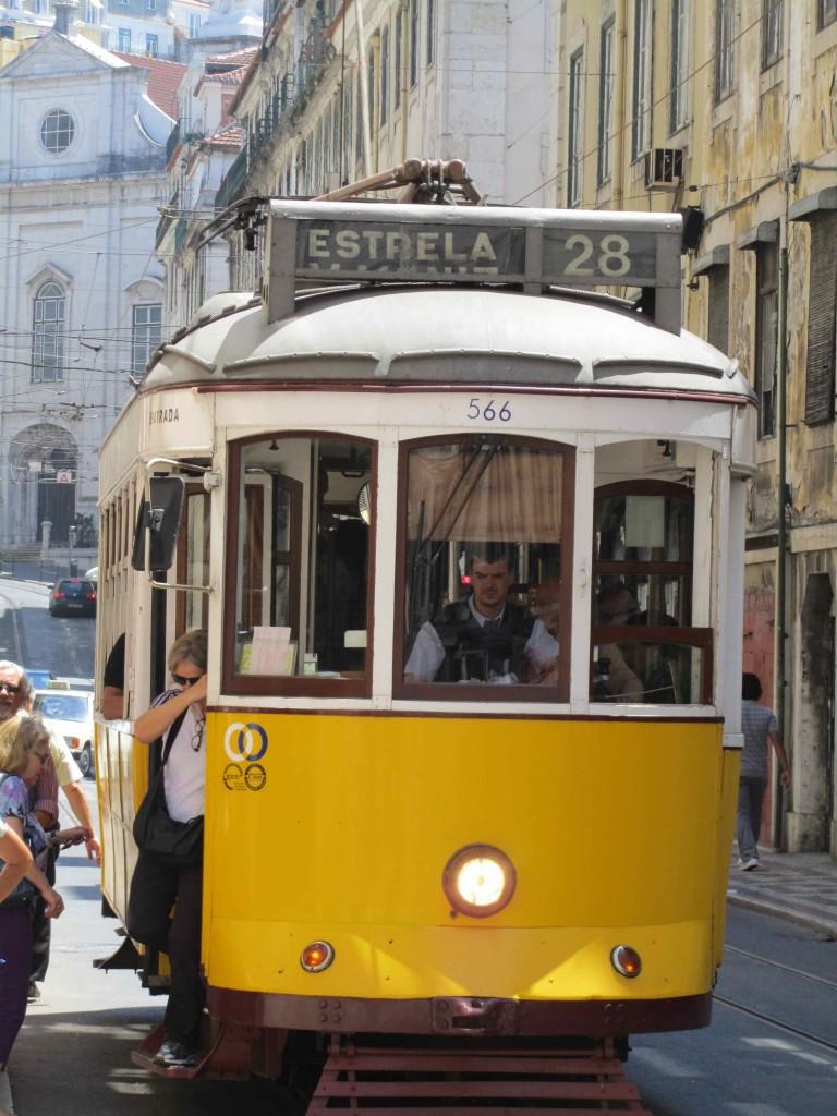 The iconic Lisbon tram