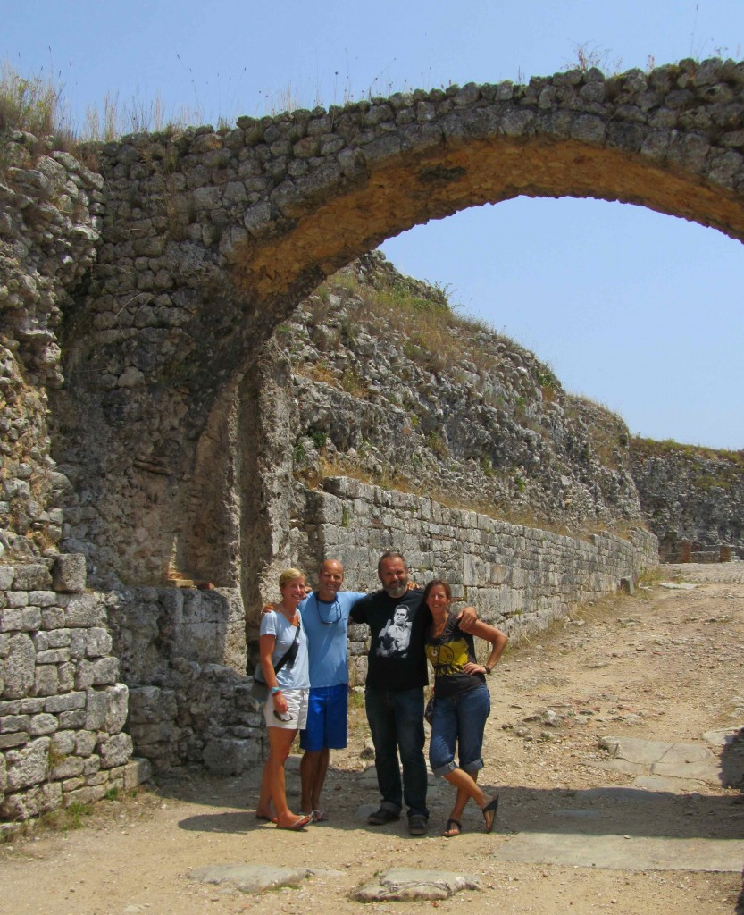 A day out with friends, exploring the Roman ruins at Conimbriga